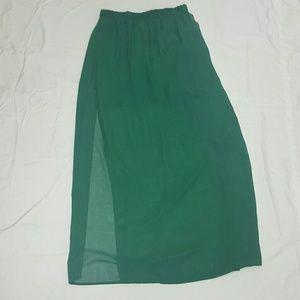 (BUNDLE 3 for $13🔥) Forever 21 Maxi Skirt